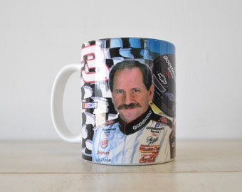 Dale Earnhardt vintage mug / early 1990s mug / race car driver / Dale Earnhardt, Sr. collectible
