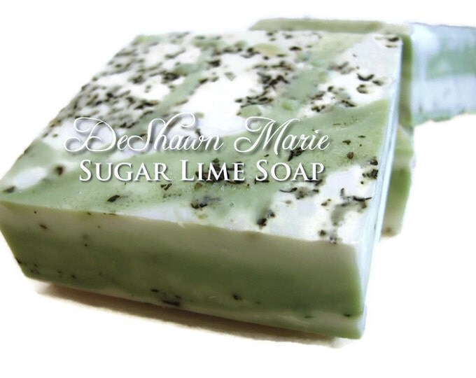 Sugar Lime Vegan Handmade Soap
