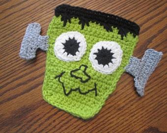 Large Crochet Frankenstein Applique