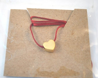 Dainty Charm Necklace/Heart Necklace
