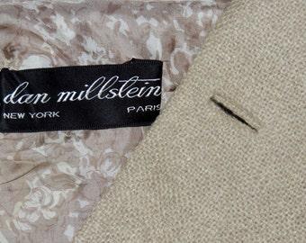 1950s Dan Millstein Paris, NY 2pc Suit M to L
