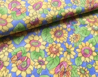 """Floral fabric from Sue Zipkin :  28"""" length"""