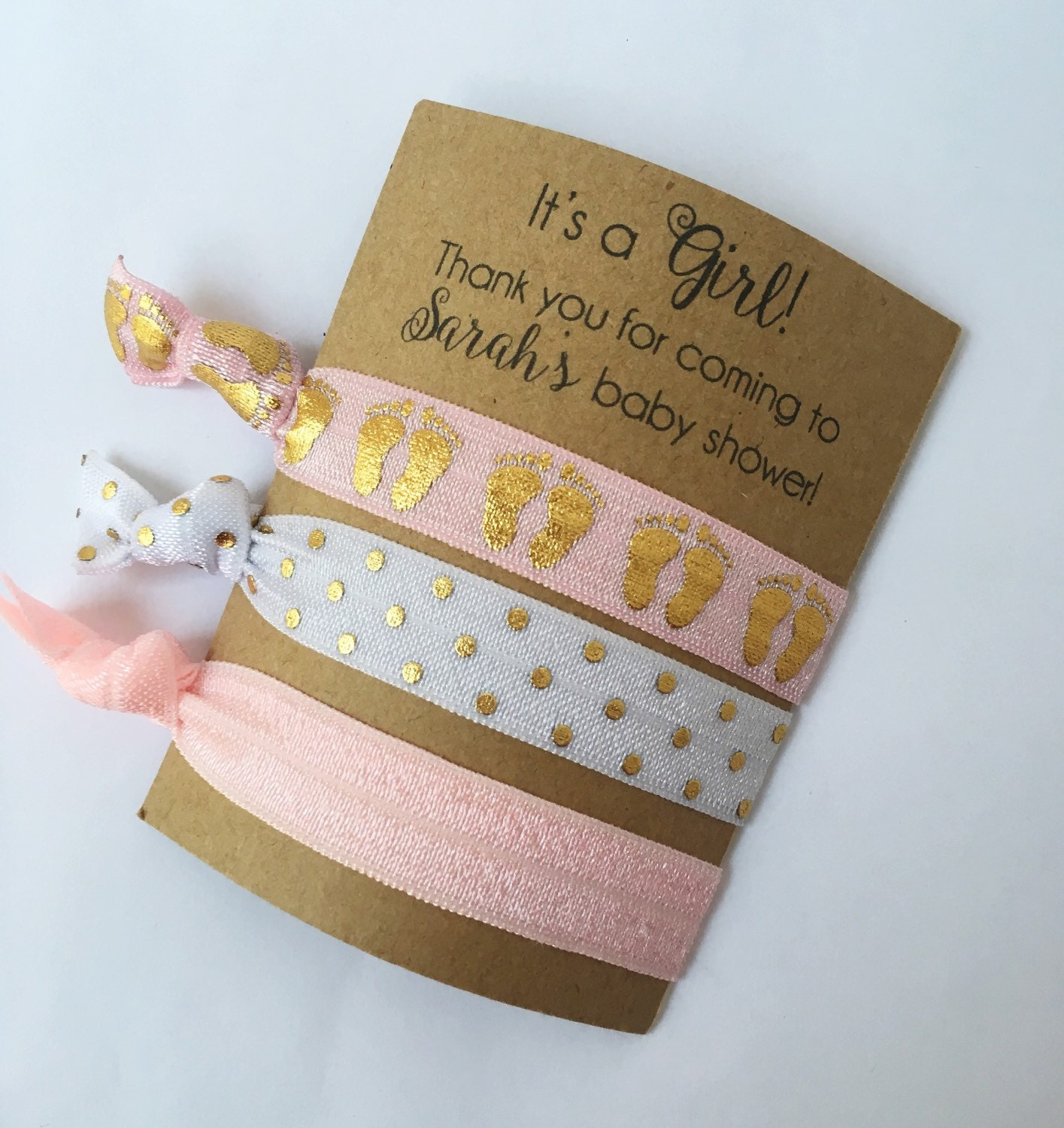 Baby Shower Favors Discount ~ Shower favors baby girl hair tie
