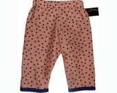 ON SALE New Punk Rock Rockabilly Navy Star Baby Boy Girl  Pants size 6m  Ready to Ship