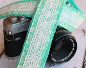 Vintage Lace Camera Strap - Camera Strap - Cute Camera Strap - dSLR Camera Strap - Canon Camera Strap - Camera Accessories - Gift for Her
