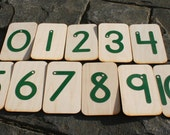 0-10 Sandpaper Numbers with storage box