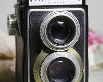 Kodak Reflex II CAMERA- Vintage Photography- Industrial Design- Lens- Viewfinder- Eastman Kodak