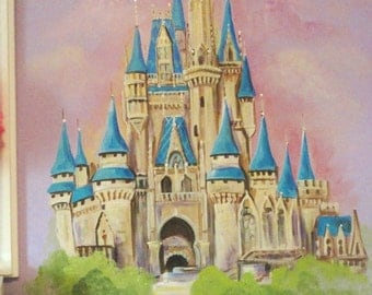 Estimate For Disney Inspired Castle Wall Art, Rapunzels Tower, Princess  Room, Castle Murals