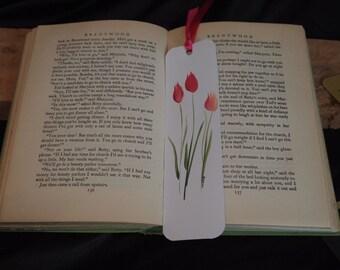 Tulip Hand Painted Bookmark