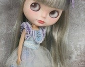 Jiajia Doll 2 pieces Lavender Summer dress fit Blythe Jerryberry Azone Middie Blythe Pullip YOSD