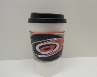 Reusable Up Cycled Drink Wrap NHL Hurricanes