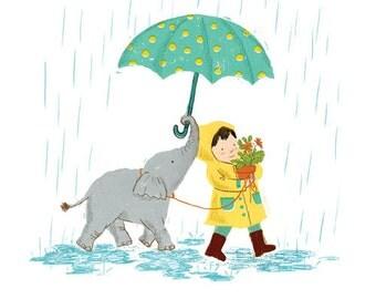 elephant&boy