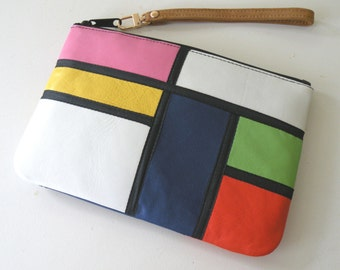 Stained Glass House Pouch