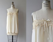 Lula silk chemise | vintage 1920s silk chemise | silk and lace 20s lingerie