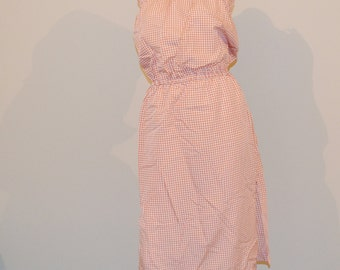 SALE......SALE......The Perfect Gingham Sundress 1970's