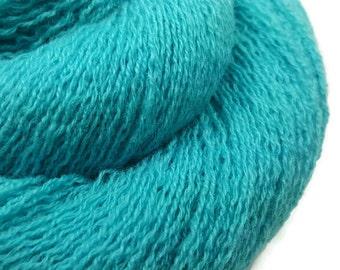 Lace Weight Cashmere Yarn - Recycled - Cashmere Yarn -  Aquamarine 100216