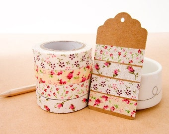 Fabric Deco Tape - Floral