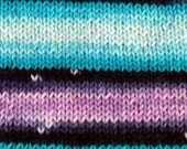 Yin and Yang - GRADIENT Self Striping - Hand Dyed Luxury MCN Sock Yarn - Top Shelf
