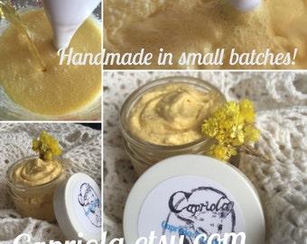 immortelle Goat Milk anti-aging lotion | Helichrysum Sea Buckthorn + Rose Hip | Argan + Mango Butter | wrinkle cream | 6 oz free shipping