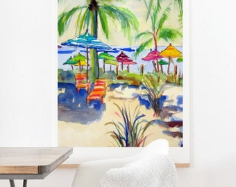 Caribbean Time - Oversized Wall Art