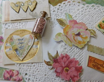 Creativity Kit - Romance Themed  Arts & Crafts and Scrapping Supplies Art Kit