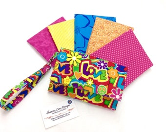 cell phone wallet, made to order wallet, wristlet wallet, you CHOOSE FABRIC, Women's Wallet with strap, shawna lane wallet, small purse