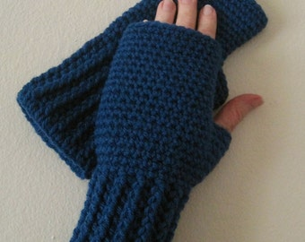 PATTERN ONLY - Crocheted Fingerless Gloves