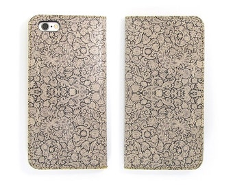 Leather iPhone 7 case, iPhone 6s Case, iPhone 6s Plus Case, iPhone 5/5s Case - Lace (Exclusive Range)