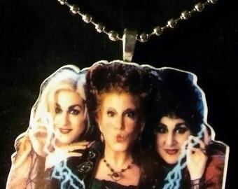 Hocus Pocus Sanderson Sisters Necklace
