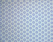 STORE CLOSING SALE - Moda, Hubba Hubba, Blue, Me & My Sister Designs, 100% Cotton Quilt Fabric, Quilting Fabric, Geometric