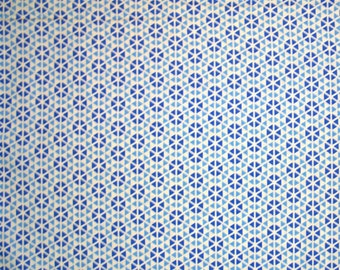 COUPON CODE SALE - Moda, Hubba Hubba, Blue, Me & My Sister Designs, 100% Cotton Quilt Fabric, Quilting Fabric, Geometric