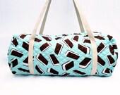 Duffle Bag , Weekender Bag , Travel Bag , Kids Luggage , Ice Cream Sandwich Bag