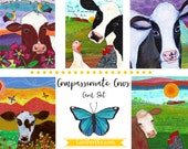 Card Set : Compassionate Cows