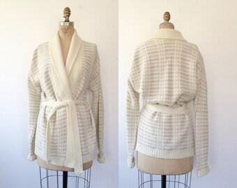 vintage cardigan / wrap sweater / Marbella Cardigan