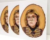 5x Twin Peaks Log Lady Postcards fire walk with me