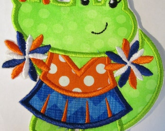 Iron On Applique - Gator Cheer