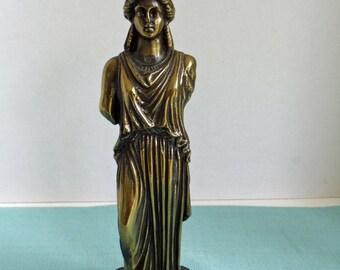 Gorgeous Heavy Bronze Greek Kapyatie Statue