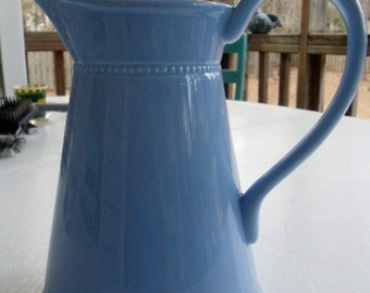Powder Blue Pitcher