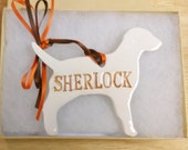 Dog Memorial Ornament Personalized 37 Breeds Available