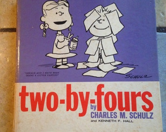 1965 Two-By-Fours; a Sort of Serious Book About Small Children by Charles Schulz
