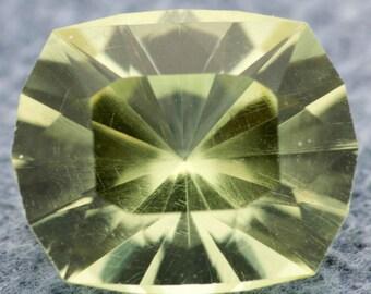 2.42 ct Yellow Apatite, Rectangular Cushion