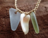 Beach Bum sea glass necklaces