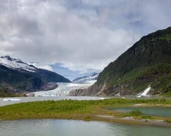 Mendenhall Glacier, Juneau, Alaska - 11x14 Alaskan Landscape Photo Print