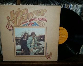John Denver Back Home Again Vintage Vinyl Record