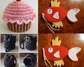 Cupcake Hat, Two Dice Bags