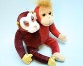 Two headed Monkey Plush