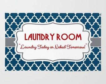 laundry area decor etsy