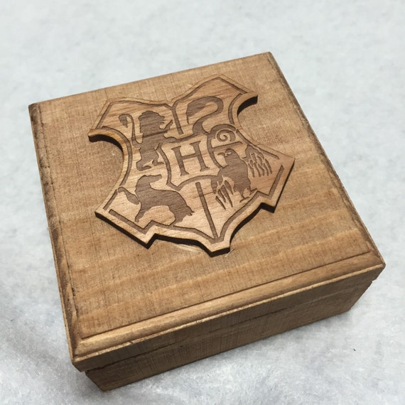 harry potter hogwarts engagement wedding ring box