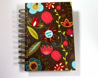 Address Book - Whimsical Garden