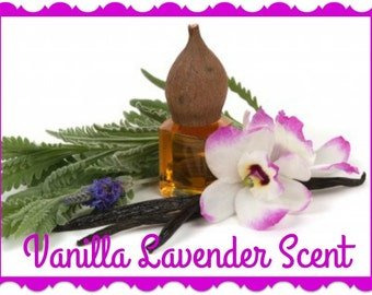 VANILLA LAVENDER Scented Soy Wax Melts Tarts * Aromatherapy * Peaceful * Serene * Relaxing * Calming * Highly Scented * Handmade In USA